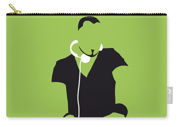 No026 My Afrojack Minimal Music Poster Carry-all Pouch
