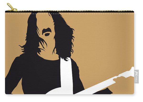 No040 My Frank Zappa Minimal Music Poster Carry-all Pouch