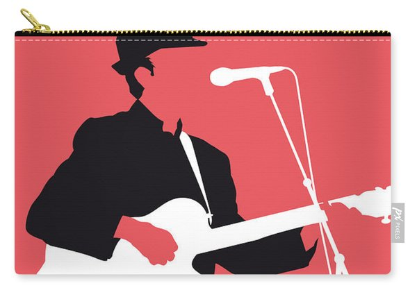 No042 My Leonard Cohen Minimal Music Carry-all Pouch
