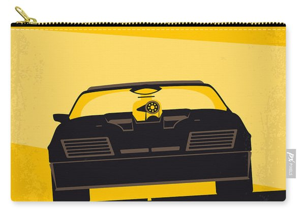 No051 My Mad Max Minimal Movie Poster Carry-all Pouch