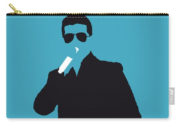 No055 My Robin Thicke Minimal Music Poster Carry-all Pouch