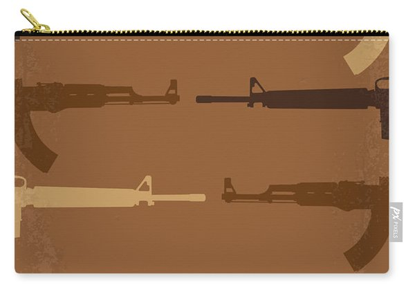 No115 My Platoon Minimal Movie Poster Carry-all Pouch