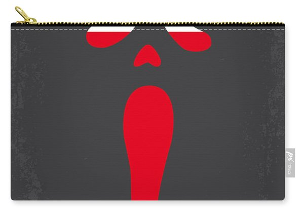 No121 My Scream Minimal Movie Poster Carry-all Pouch