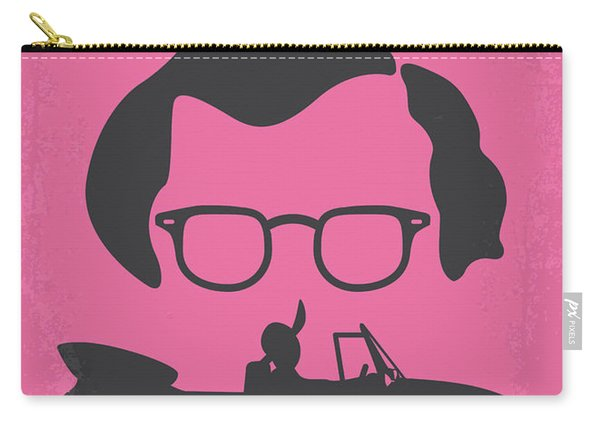 No147 My Annie Hall Minimal Movie Poster Carry-all Pouch