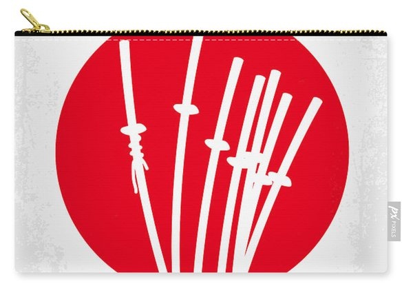 No200 My The Seven Samurai Minimal Movie Poster Carry-all Pouch