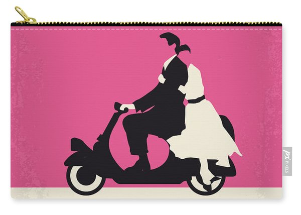 No205 My Roman Holiday Minimal Movie Poster Carry-all Pouch