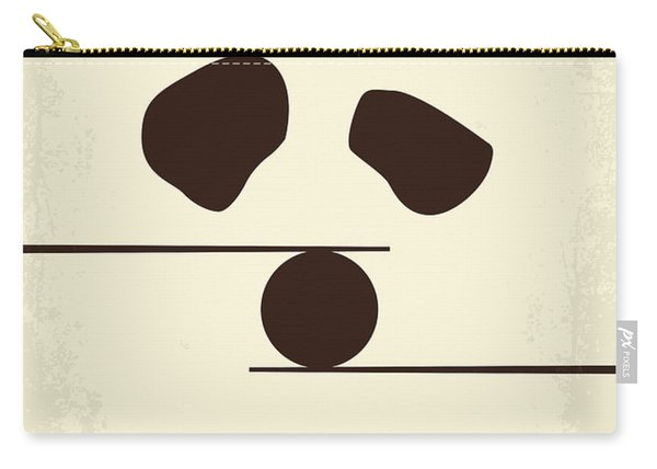 No227 My Kung Fu Panda Minimal Movie Poster Carry-all Pouch