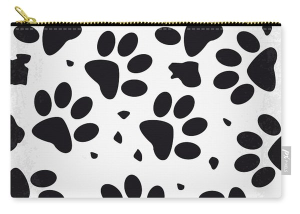 No229 My 101 Dalmatians Minimal Movie Poster Carry-all Pouch