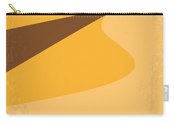 No251 My Dune Minimal Movie Poster Carry-all Pouch