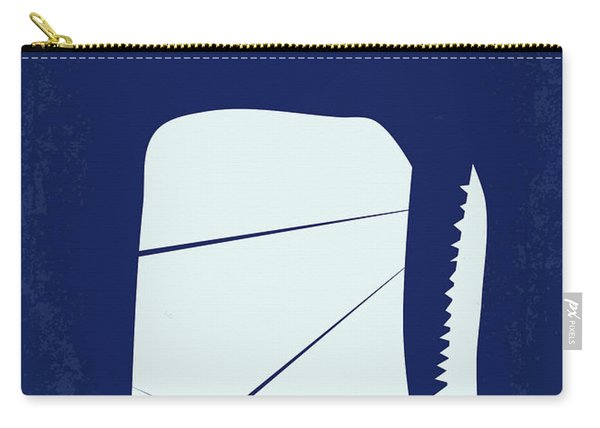 No267 My Moby Dick Minimal Movie Poster Carry-all Pouch