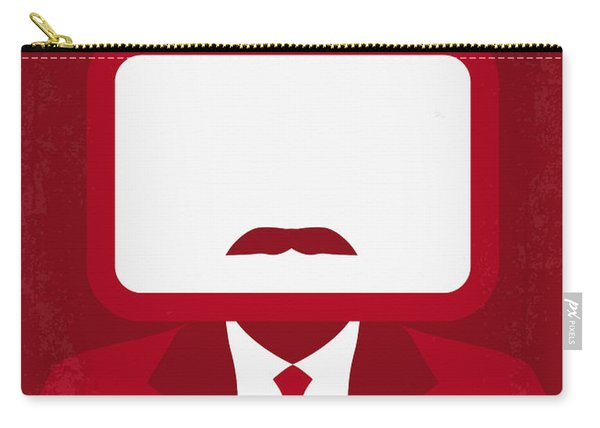 No278 My Anchorman Ron Burgundy Minimal Movie Poster Carry-all Pouch