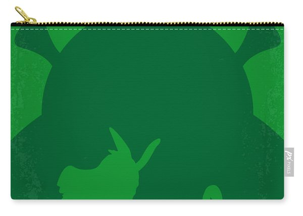 No280 My Shrek Minimal Movie Poster Carry-all Pouch