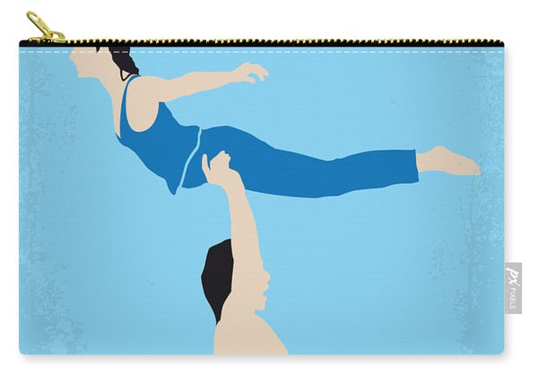 No298 My Dirty Dancing Minimal Movie Poster Carry-all Pouch