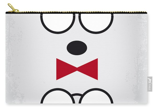No324 My Mr Peabody Minimal Movie Poster Carry-all Pouch