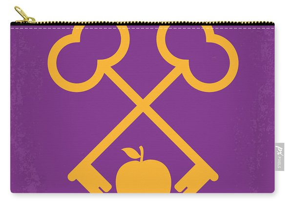 No347 My The Grand Budapest Hotel Minimal Movie Poster Carry-all Pouch