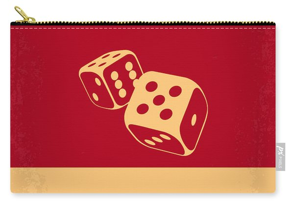 No348 My Casino Minimal Movie Poster Carry-all Pouch
