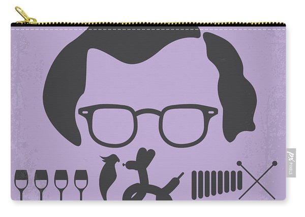 No363 My Broadway Danny Rose Minimal Movie Poster Carry-all Pouch