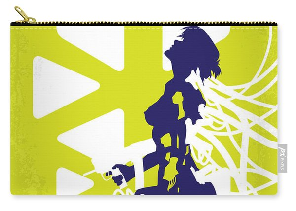 No366 My Ghost In The Shell Minimal Movie Poster Carry-all Pouch