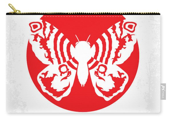 No391 My Mothra Minimal Movie Poster Carry-all Pouch