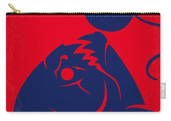 No433 My Piranha Minimal Movie Poster Carry-all Pouch