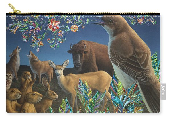 Nocturnal Cantata Carry-all Pouch