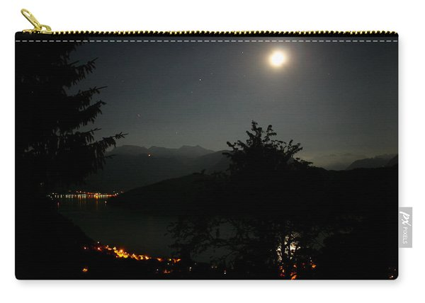 Nocturne In Switzerland Carry-all Pouch
