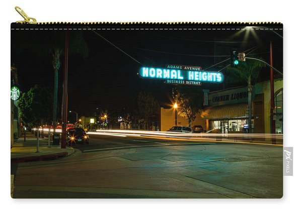 Normal Heights Neon Carry-all Pouch