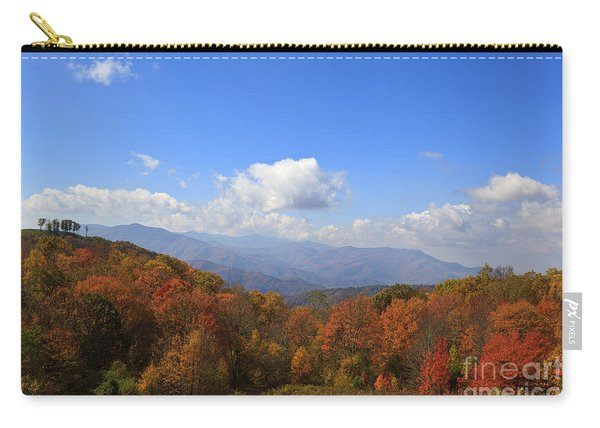 North Carolina Mountains In The Fall Carry-all Pouch