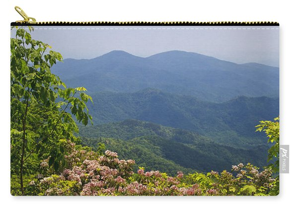 North Carolina Mountains Carry-all Pouch
