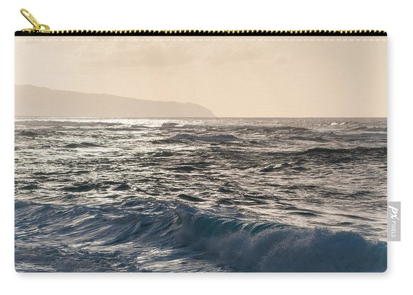 North Shore Waves Carry-all Pouch