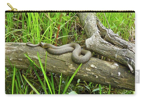Northern Water Snake - Nerodia Sipedon Carry-all Pouch