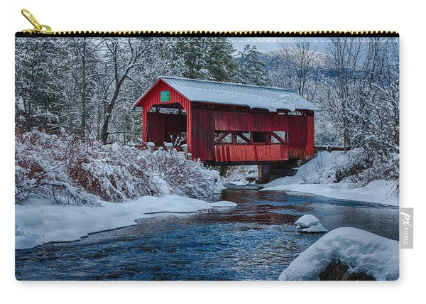 Northfield Vermont Covered Bridge Carry-all Pouch