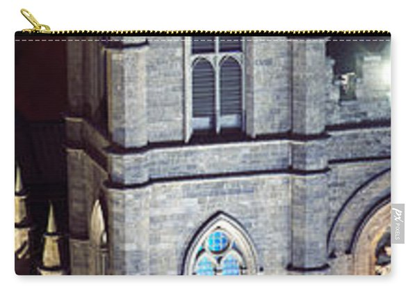 Notre Dame De Montreal At Night Carry-all Pouch