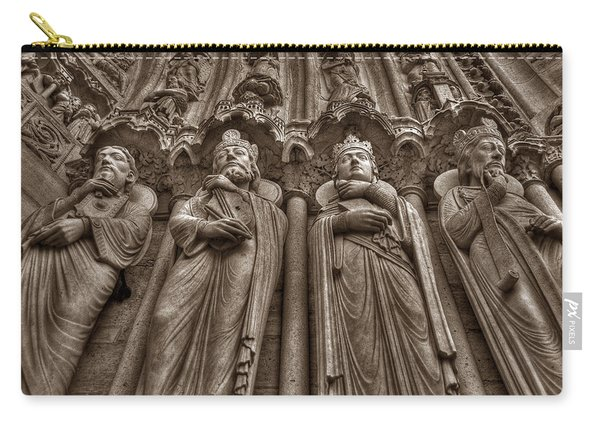 Notre Dame Facade Detail Carry-all Pouch
