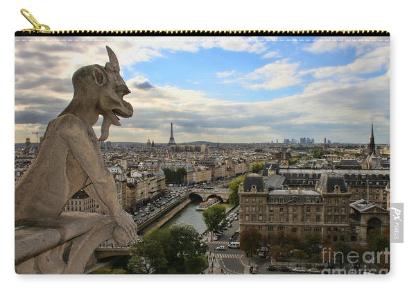 Notre Dame Gargoyle Carry-all Pouch