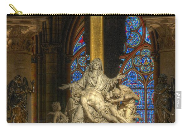Notre Dame Pieta Carry-all Pouch