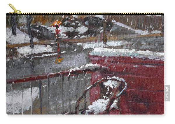 First Snowfall Nov 17 2014 Carry-all Pouch