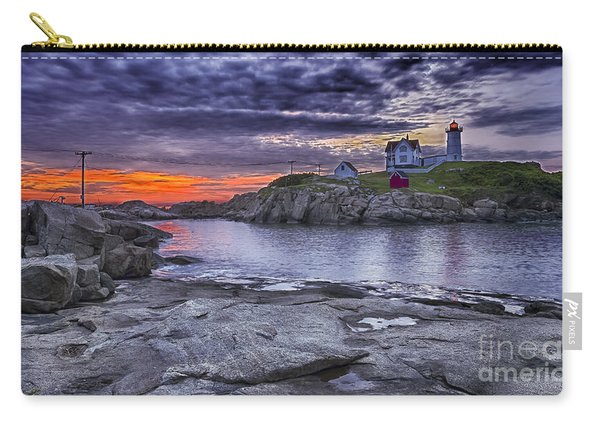 Nubble Lighthouse Maine Carry-all Pouch