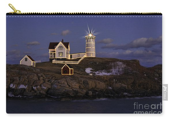 Nubble Lighthouse Ll Carry-all Pouch