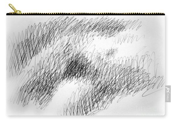 Nude Female Abstract Drawings 1 Carry-all Pouch