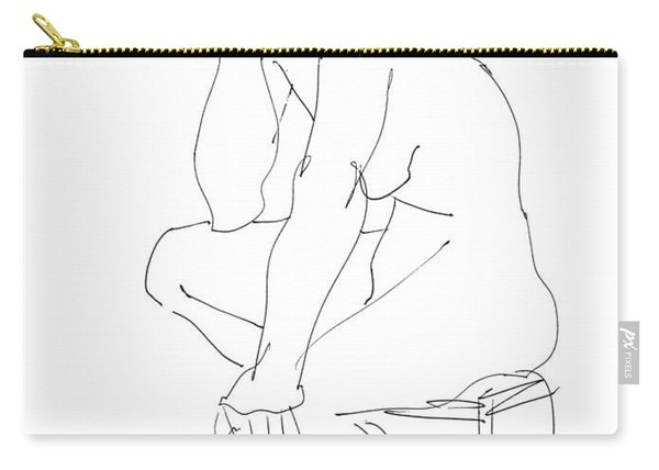 Nude Female Drawings 12 Carry-all Pouch