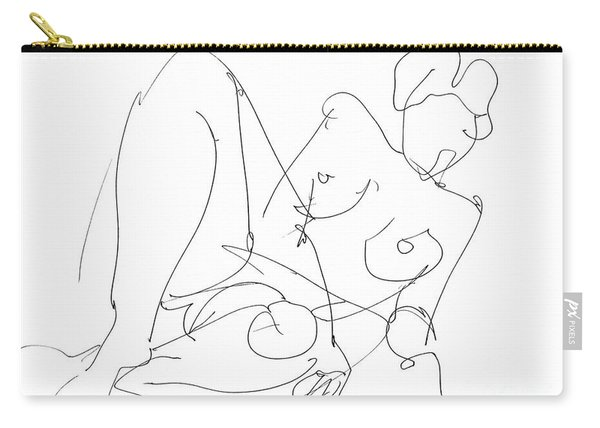 Nude Female Drawings 15 Carry-all Pouch