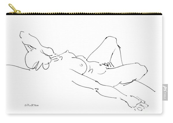 Nude Female Drawings 2 Carry-all Pouch