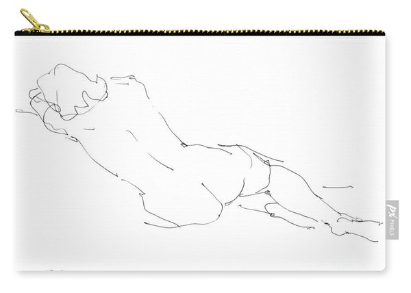 Nude Female Drawings 9 Carry-all Pouch