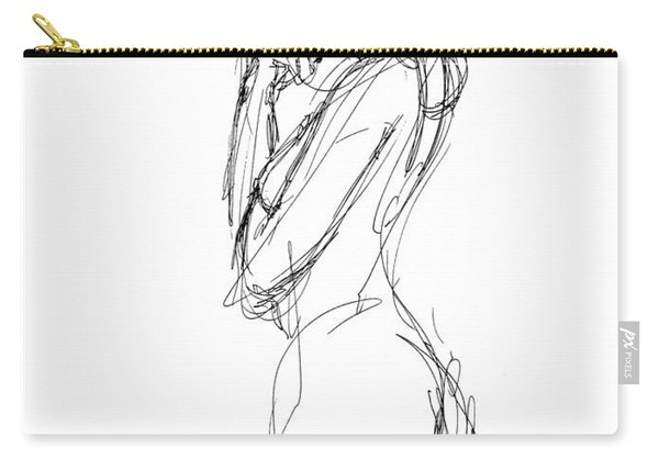 Nude Female Sketches 1 Carry-all Pouch