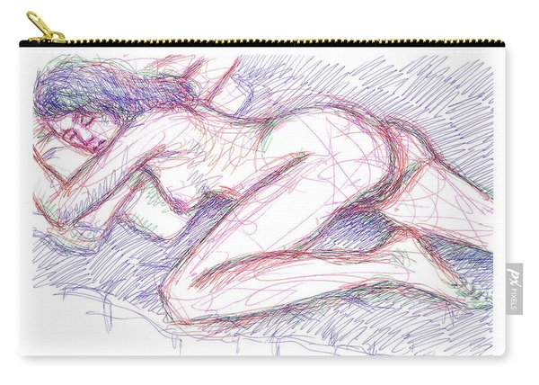 Nude Female Sketches 5 Carry-all Pouch