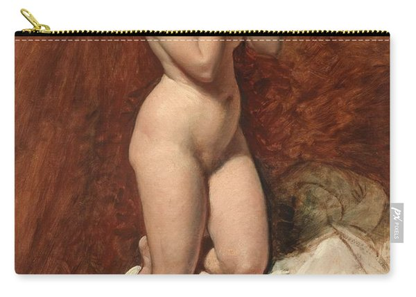 Nude From The Front Carry-all Pouch