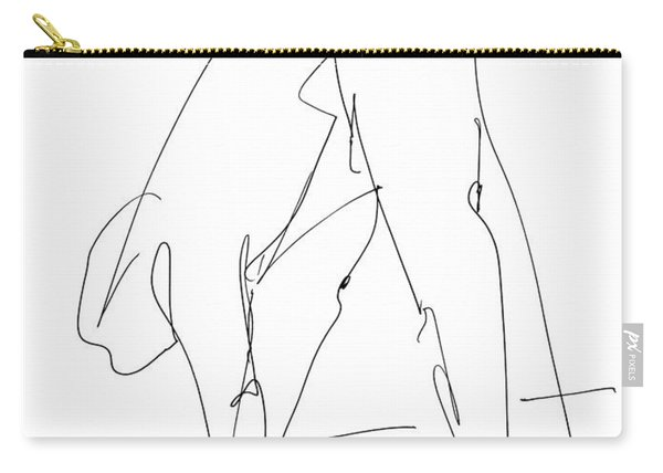 Nude Male Drawings 32 Carry-all Pouch
