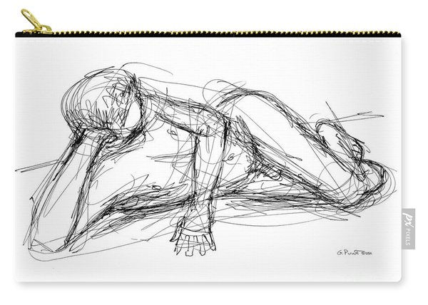 Nude Male Sketches 5 Carry-all Pouch