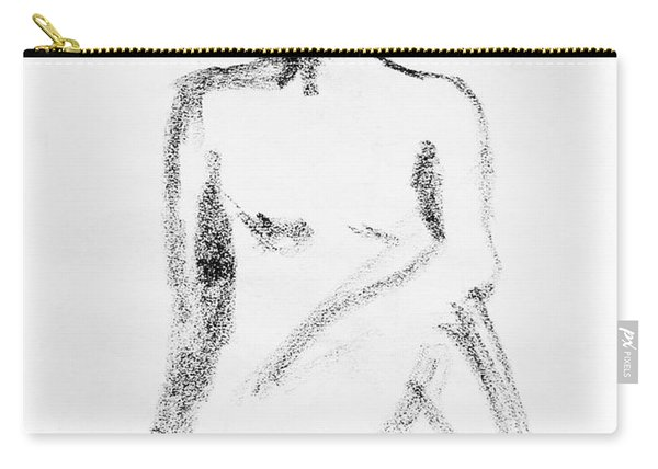 Nude Model Gesture Vi Carry-all Pouch